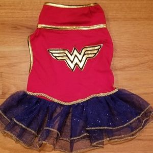 Rubie's Wonder Woman Pet Tutu Dress 💖